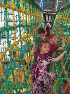 krazy kaves portsmouth rope bridge in play area