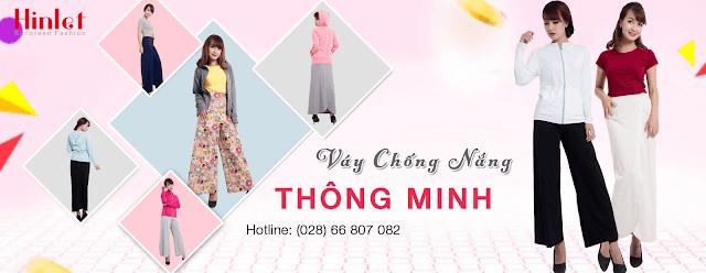 váy chống nắng chất liệu phù hợp nhất