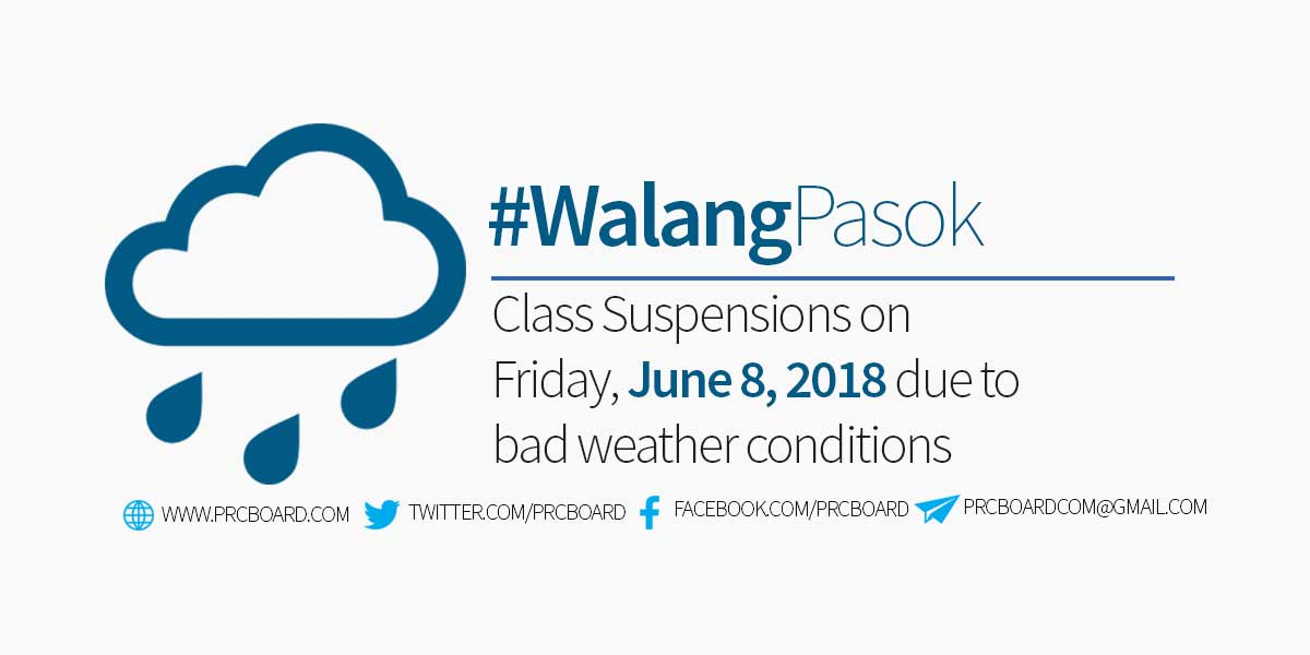Shall There Be A Typhoon Warning Signals To An Area Automatic Class Suspension Guidelines From The Department Of Education Will Be Observed