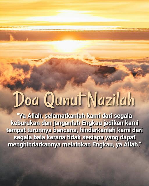 Doa Qunut Nazilah Disaat Negara Di Landa Musibah Covid-19