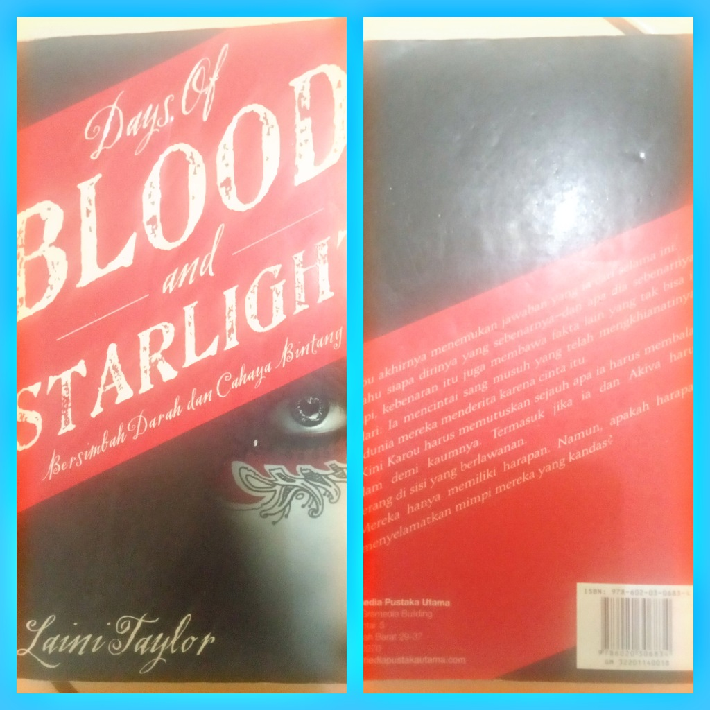 Novel Days of Blood and Starlight