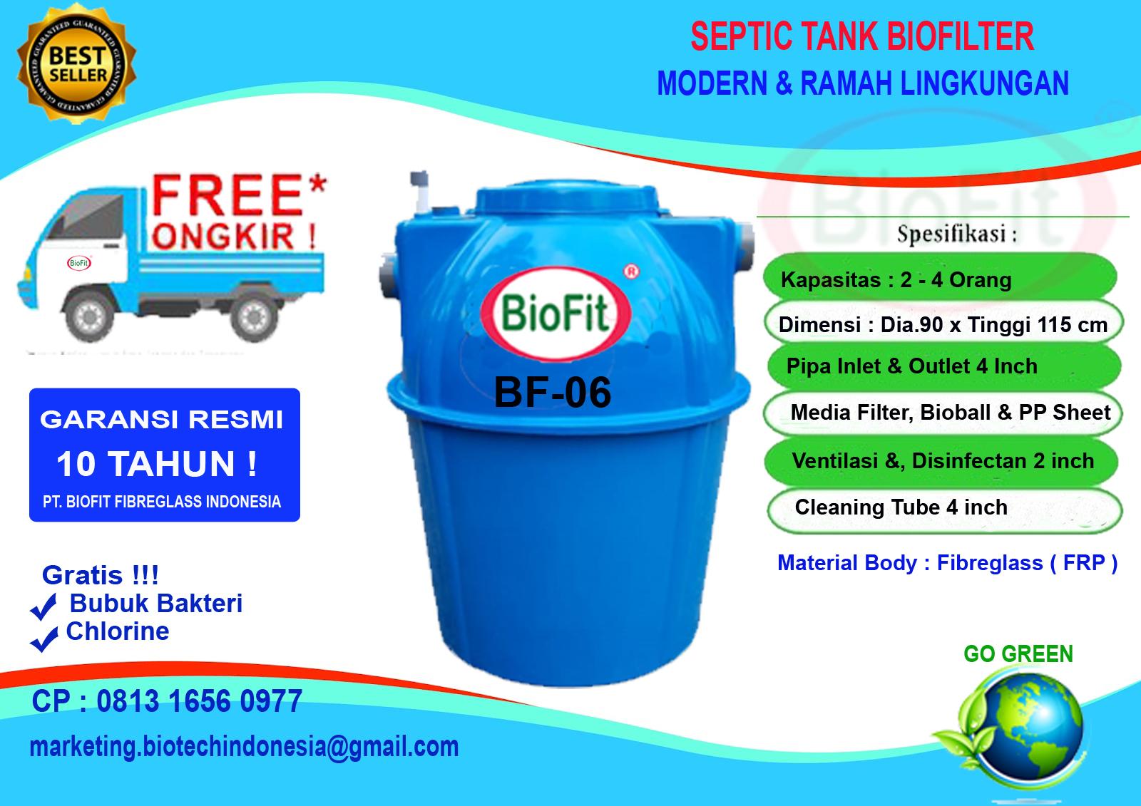 Septic Tank BioFit Type BF-Series