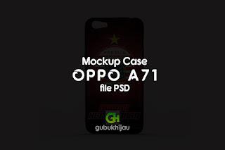 Mockup Case Oppo A71