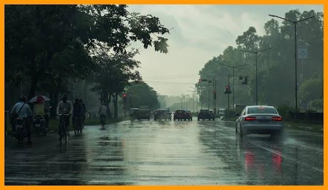 यूपी: 14 अगस्त तक भारी बारिश की चेतावनी