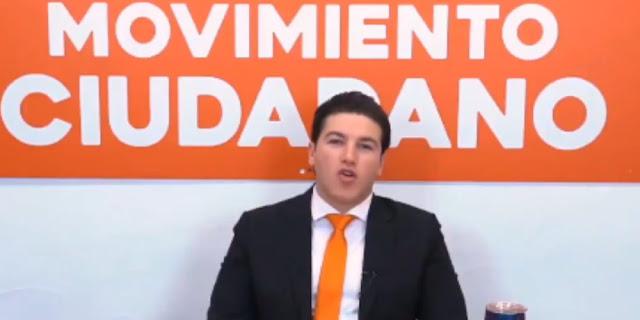 INE le perdona a Samuel García ingresos no reportados por más de 35 MILLONES DE PESOS