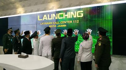 Pemerintah kota Jambi Launching Pelayanan Call Center 112 , Lihat Apa Saja Pelayanannya?