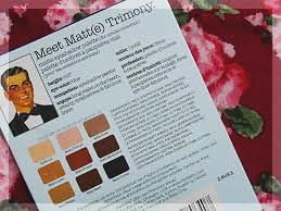 theBalm Meet Matt(e) Trimony Review