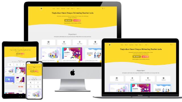 Janda Design Pro Blogger Template Free Premium Template Blogger Dawnload Gratis