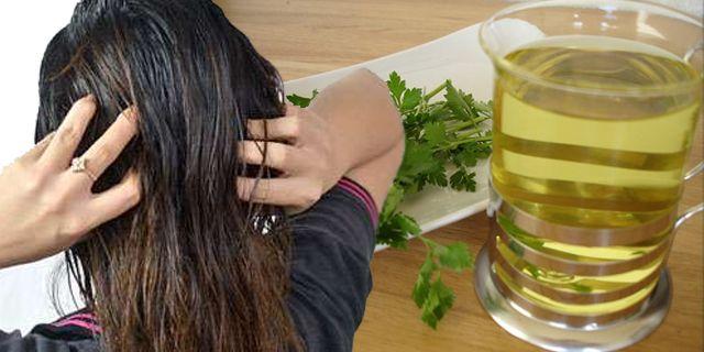 maydanoz suyu ile saçtaki soğan kokusu nasıl gider