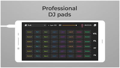 Aplikasi Musik DJ Terbaik - DJ Loop Pads