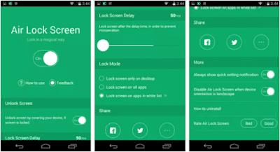 Aplikasi Air Lock Screen
