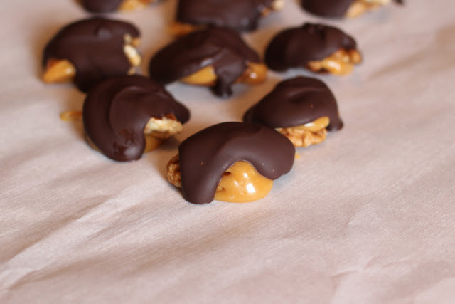 Chocolate Turtles from Elsa Cooks