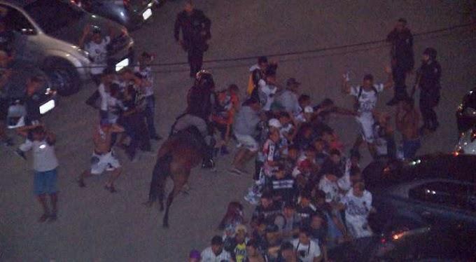 Torcedores de Campinense e Botafogo-PB entram em confronto durante jogo no Amigão