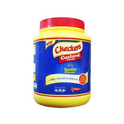 Checkers Custard Vanilla Flavour Powder 2kg  on white background