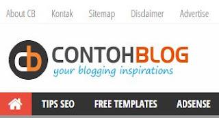 Cara Mengubah atau Mengedit Navigasi Menu Blogger Cara Edit Navigasi Menu Blogger