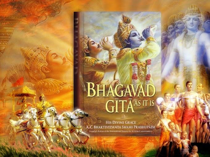 Gita Jayanthi: Birth of Holy Bhagawad Gita