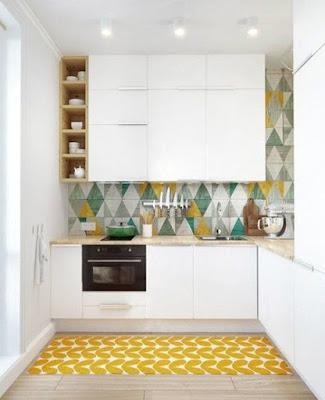 Kabinet Dapur untuk Ruang Kecil