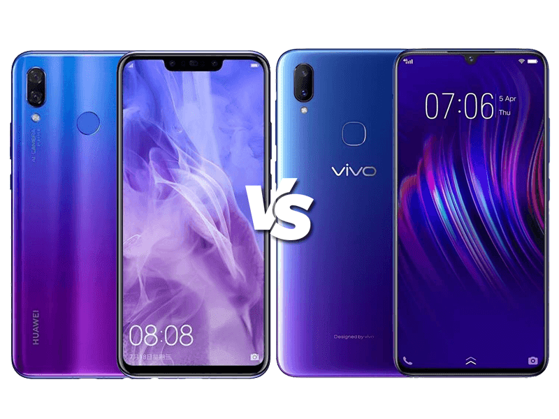 Vivo V11i vs Huawei Nova 3i  Specs Comparison