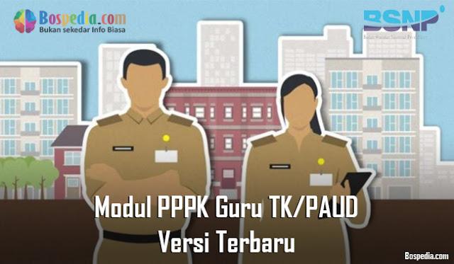 Modul PPPK Guru TK/PAUD Versi Terbaru