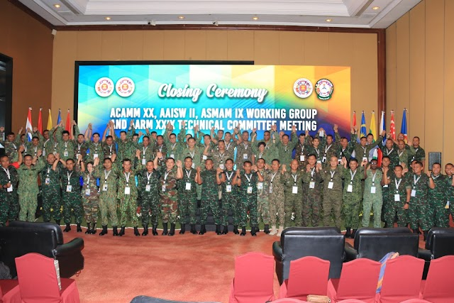 Kasad Membuka Army Working Group Dan Technical Commitee Meeting AARM, ACAMM, ASMAM Dan AAISW TA. 2019