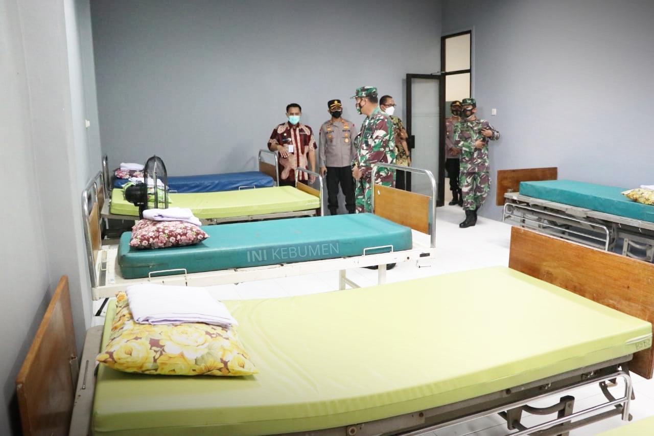 """Kapasitas Isolasi Terpusat di """"RS Darurat Kebumen"""" 30 Tempat Tidur"""