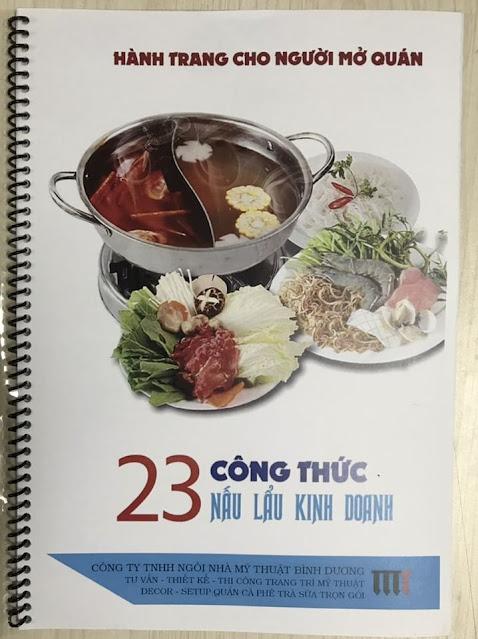 23 công thức nấu lẩu kinh doanh