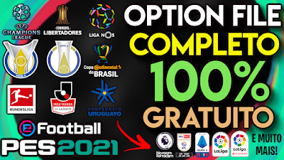 PES 2021 PS4 Option File by PESVicioBR