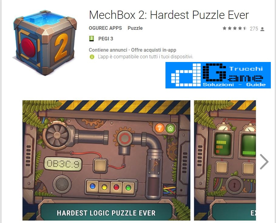 Soluzioni MechBox 2: Hardest Puzzle Ever | Screenshot Livelli con Risposte