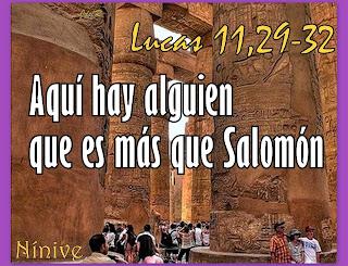 Resultado de imagen para Lucas 11,29-32