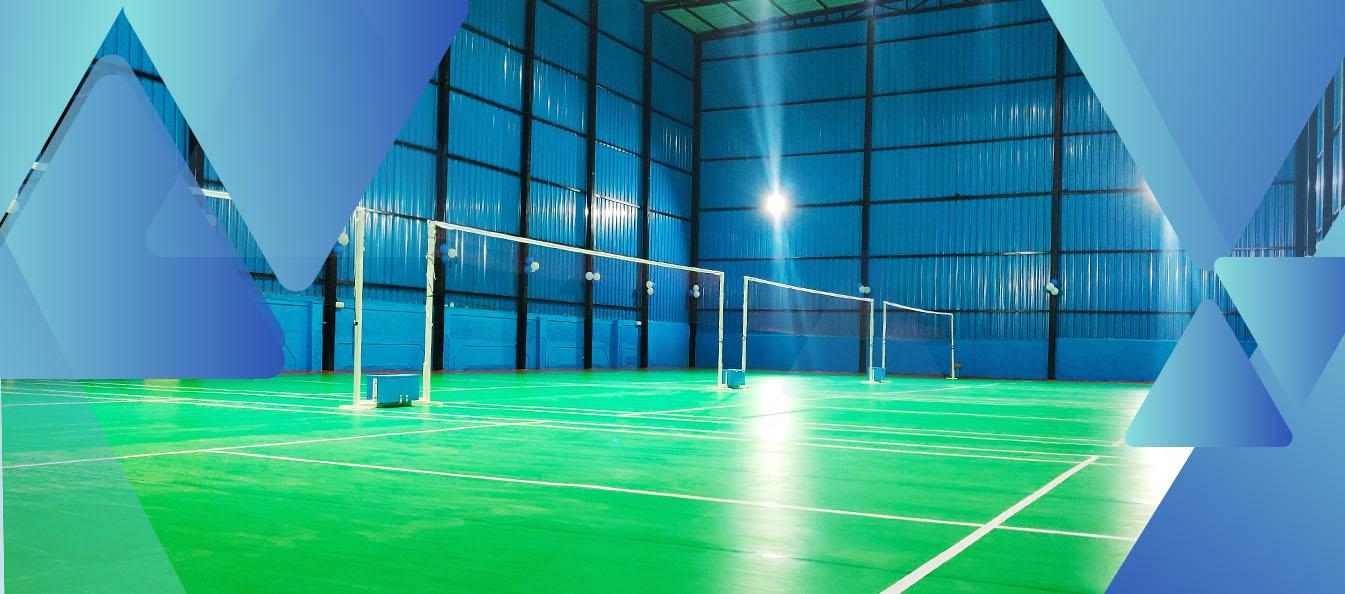 jual lapangan badminton surabaya