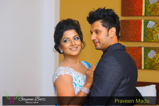 Ishara Sandamini's First Wedding Anniversary
