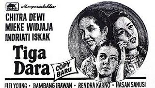film usmar ismail, film tahun 1956, mieke widjaja, mieke wijaya, indriati iskak, chritra dewi, mieke widjaya,