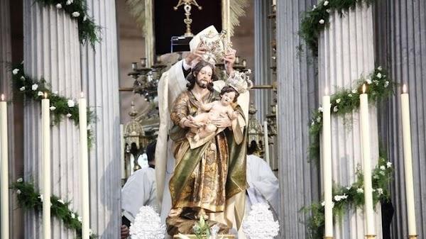 El Bendito Patriarca, coronado canónicamente en la Catedral de Cádiz