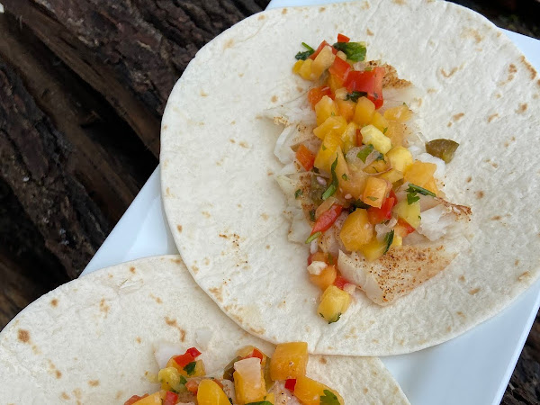 The Best Baked Cod Fish Tacos