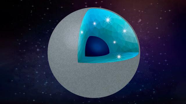 Un experimento confirma que pueden existir exoplanetas hechos de diamantes