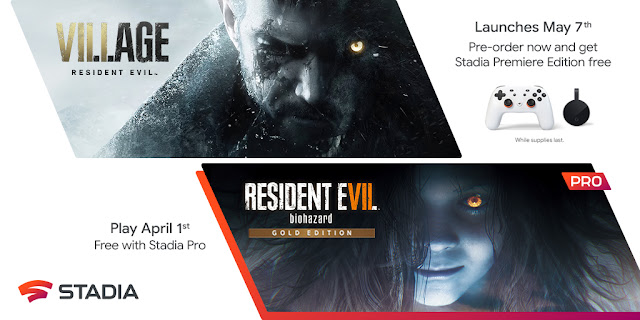 Resident Evil Village to be available on Google Stadia from 7th May: Pre-order now and get a free Stadia Premiere Edition | TechNeg