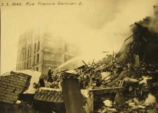 Damage at the Billancourt Renault Factory, 4 March 1942, worldwartwo.filminspector.com