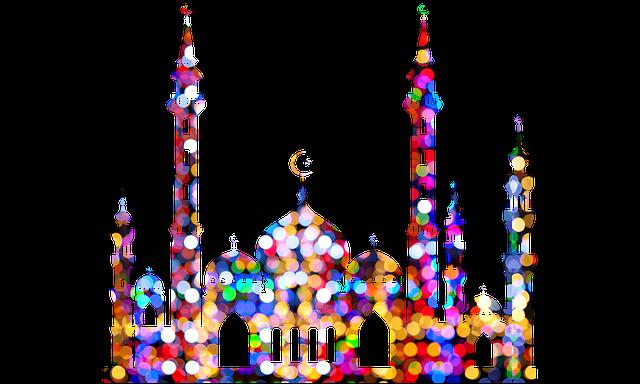 صور مميزة للمسجد الملون