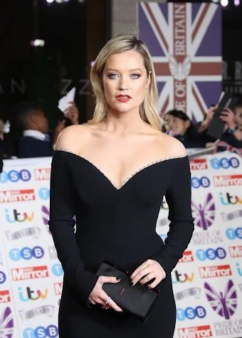 Laura Whitmore Clicks at Pride of Britain 2019 Awards in London 28 OCt-2019