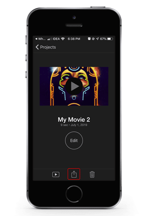 تطبيق iMovie