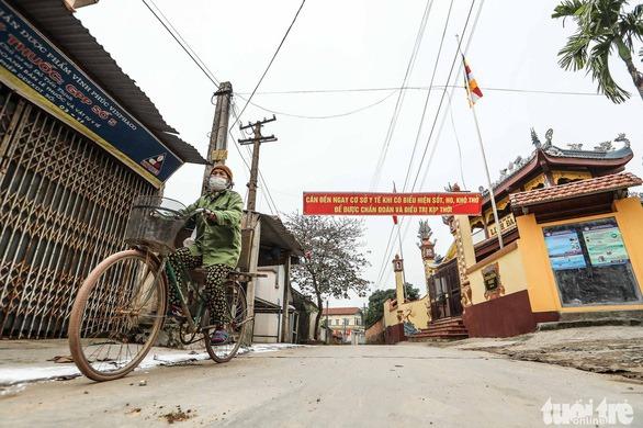 Vĩnh Phúc chính thức cách ly toàn xã Sơn Lôi, hỗ trợ mỗi người dân 40.000 đồng/ngày