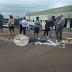 Laranjeiras - Picolézeiro fica gravemente ferido após ser atropelado em rotatória