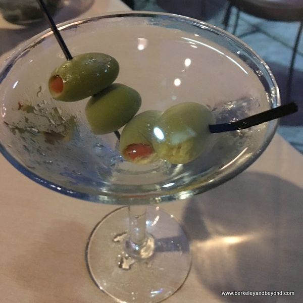 martini at Anton & Michel in Carmel, California