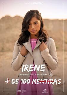 Irene en la serie juvenil '+ De 100 Mentiras'