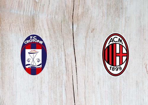 Crotone vs Milan -Highlights 27 September 2020