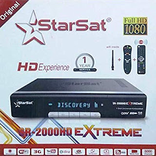 Starsat 2000 HD Extreme Latest Update 2.71 Software 2020