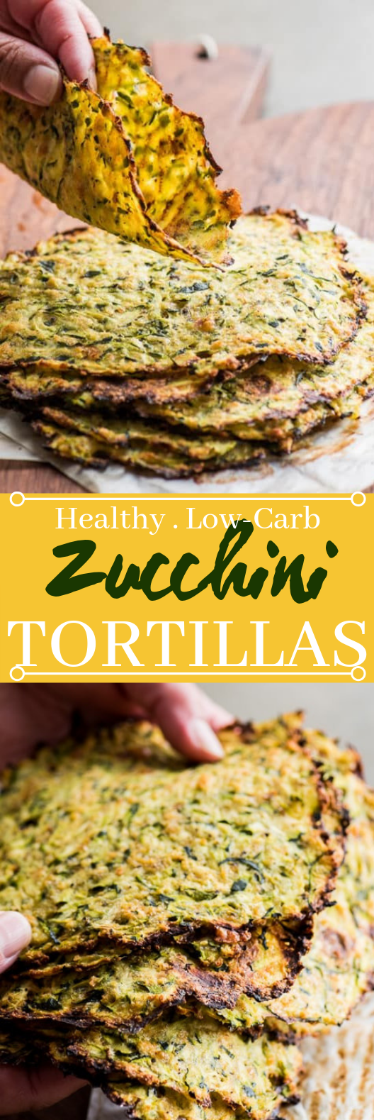 LOW CARB ZUCCHINI TORTILLAS #healthy #keto