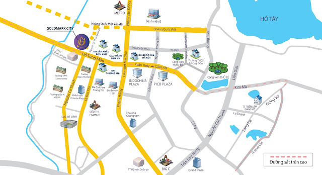 Maps Goldmark City