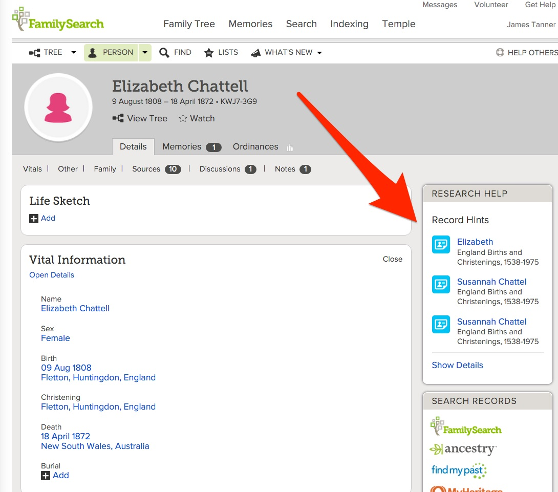 Rejoice, and be exceeding glad...: How Accurate are the FamilySearch Family Tree Record Hints?