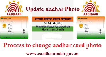 Aadhaar Card Photo Change